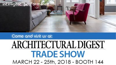 Visit us at AD Design Show 2018