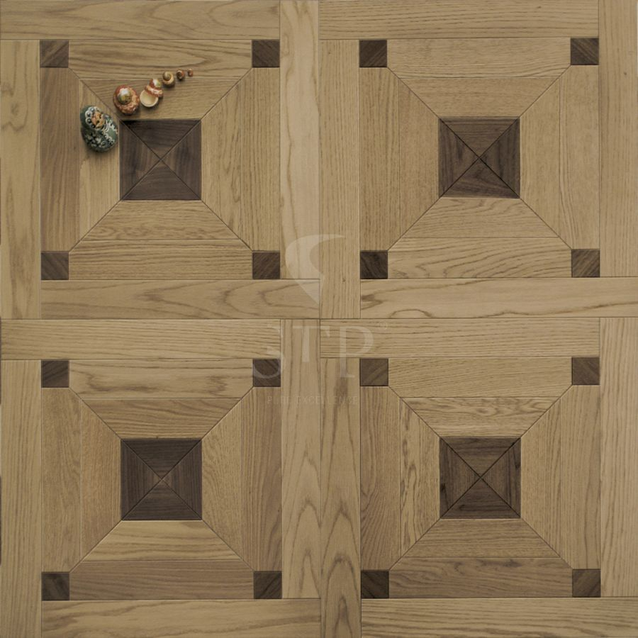 0580x0580 HERMITAGE OAK NATURAL + AMERICAN WALNUT NATURAL